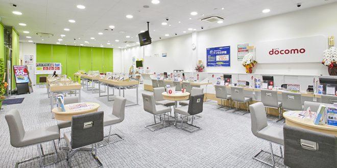 ドコモショップ和泉府中店 改装工事
