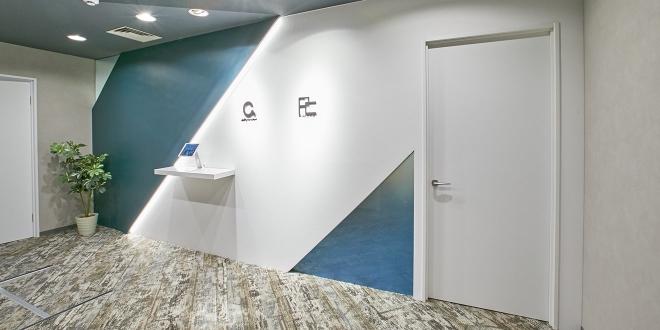 オフィス移転工事 株式会社アビリティコンサルタント   オフィス 内装 施工事例