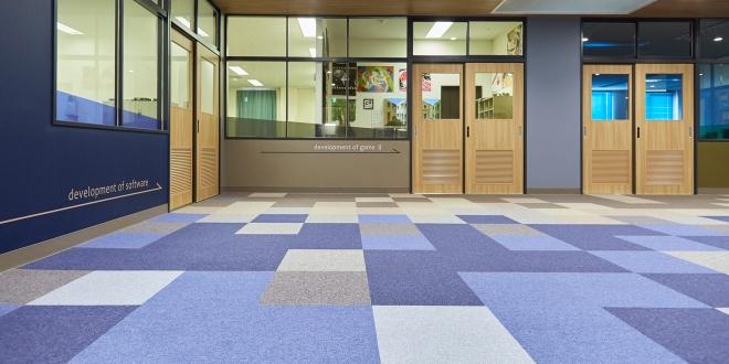 専門学校 共用スペース/改装工事 | オフィス 内装 施工事例