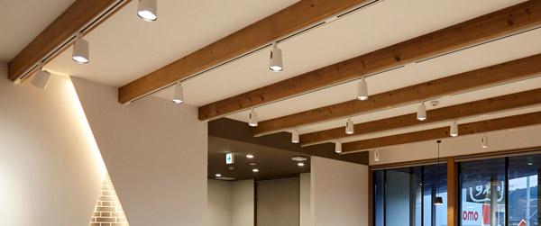 オフィス・店舗の効果的な照明の演出方法◆スポットライト◆