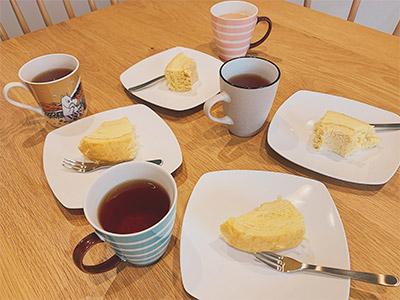 baumkuchen&tea
