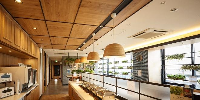 スーパーホテル新居浜/改装工事[1Fフロア] | オフィス 内装 施工事例